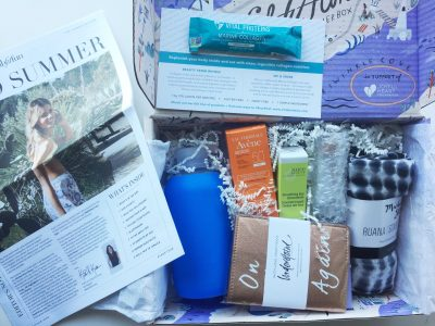 FabFitFun Summer 2017 Open Box with Contents