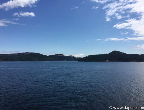 Travelling from Vancouver to Victoria by Ferry