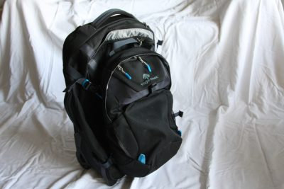 Eagle Creek Doubleback Carry-On wheeled backpack with Day Pack