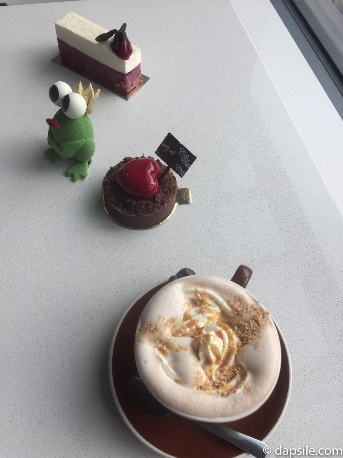 Chez Christoph Treats and Hot Chocolate Festival Popcorn Hot Chocolate