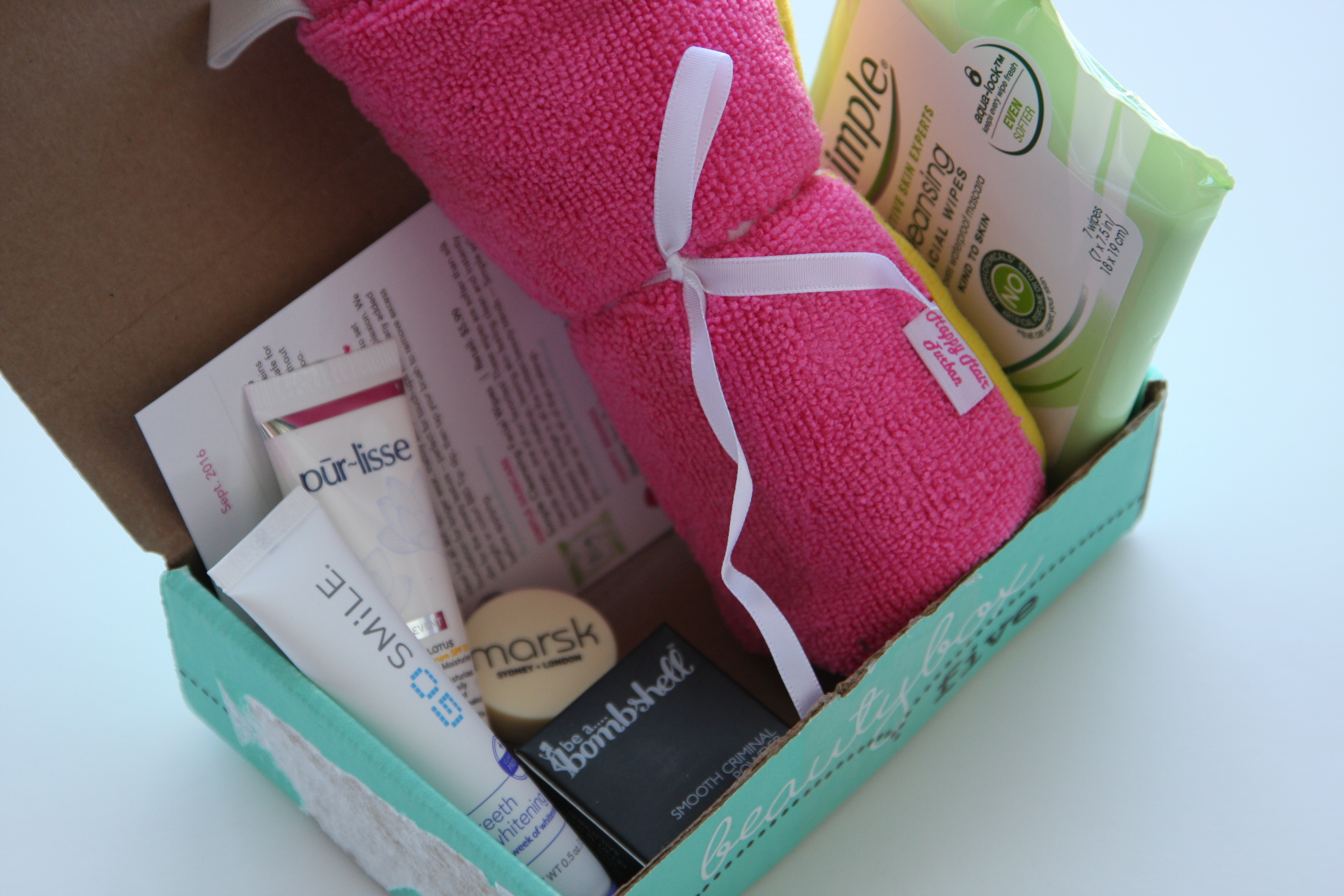 September BeautyBox 5 Subscription Box – Review