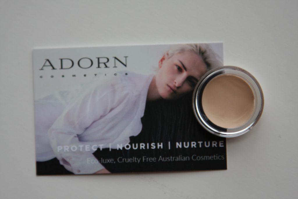 Adorn Mineral & Organic Hydrating Cream Foundation open jar sample