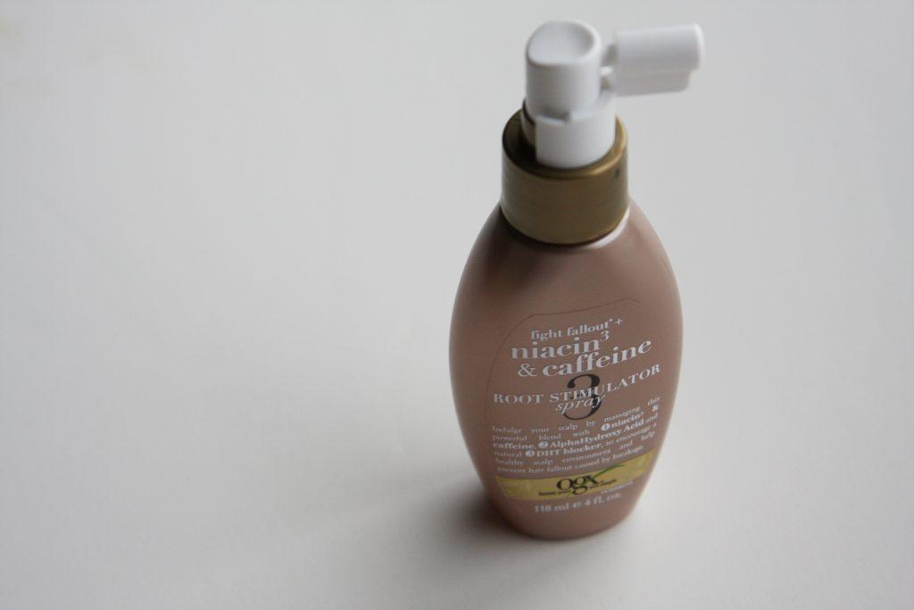Niacin & Caffeine root spray for hair