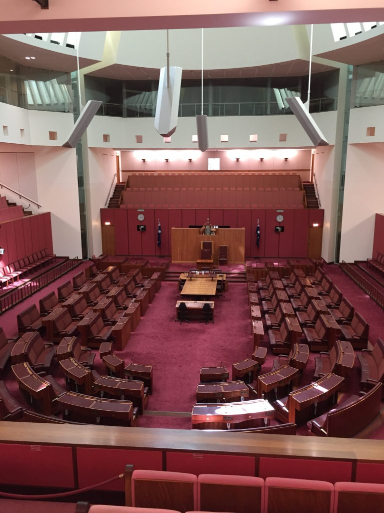 The Senate in the New Parliament