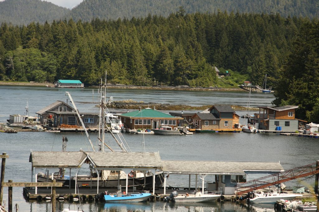 Boats and Boat Houses in Tofino