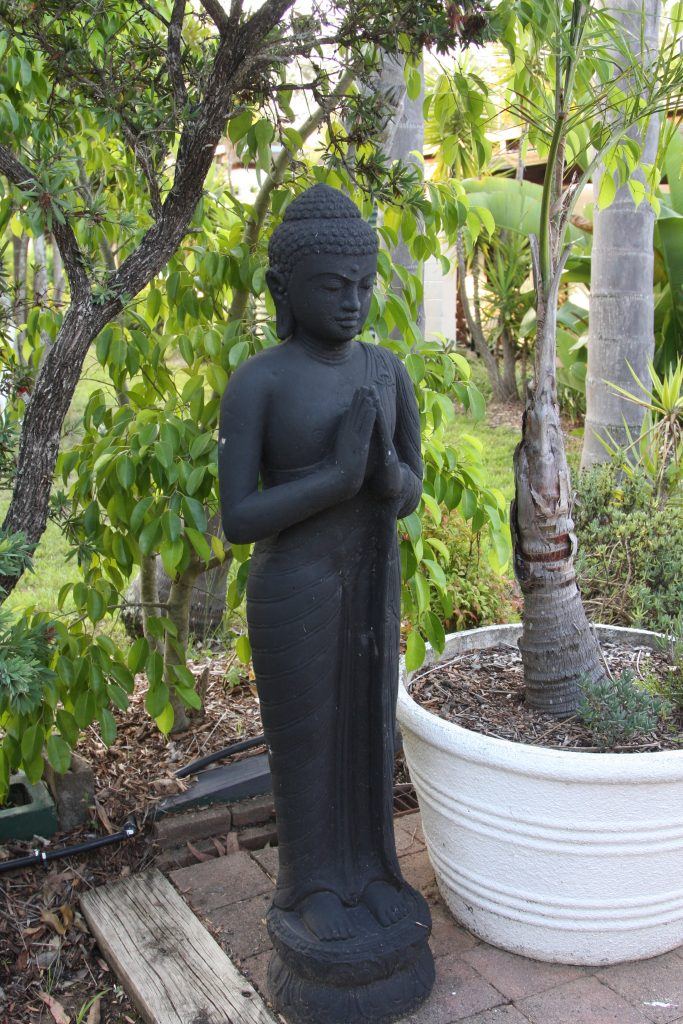 Statue on the Grounds at Swami's Yoga Retreat