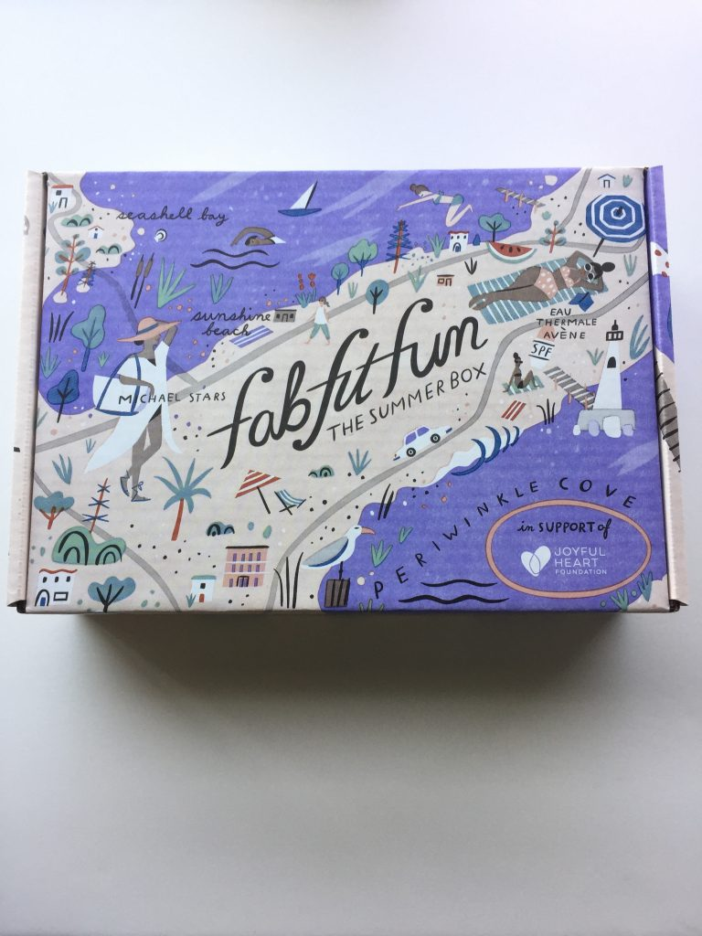 FabFitFun Summer 2017 Box Design