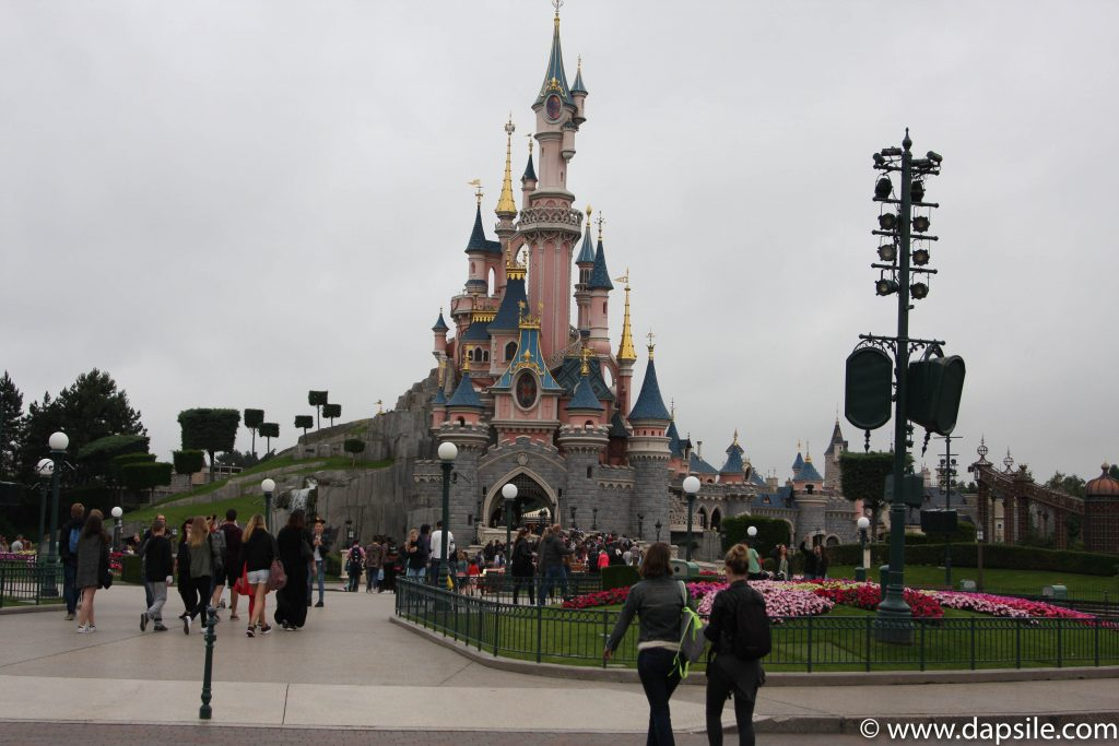 Cinderella Castle in Disneyland Paris Sights