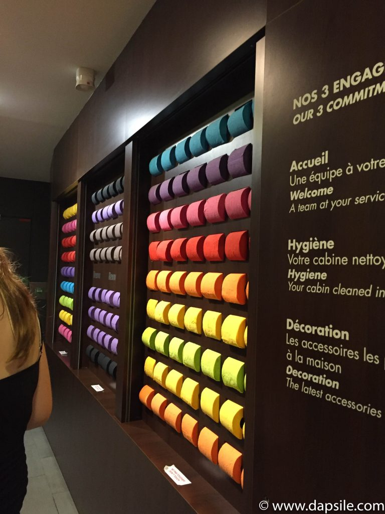 the Coloured Toilet Paper for sale at Point WC Paris