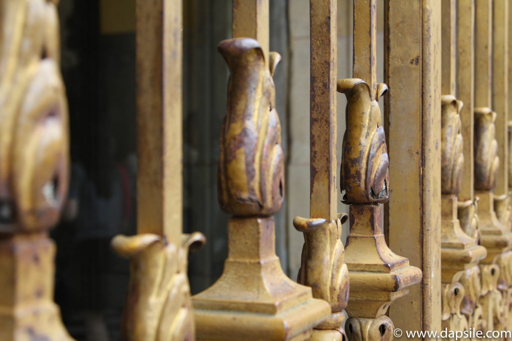Decorative Bars at the Palace of Versailles at Paris Sights