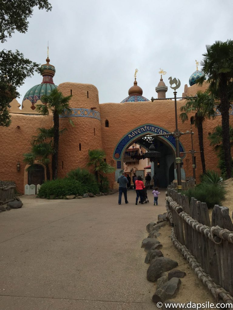 Entrance to Adventureland at Disneyland in Paris Sights