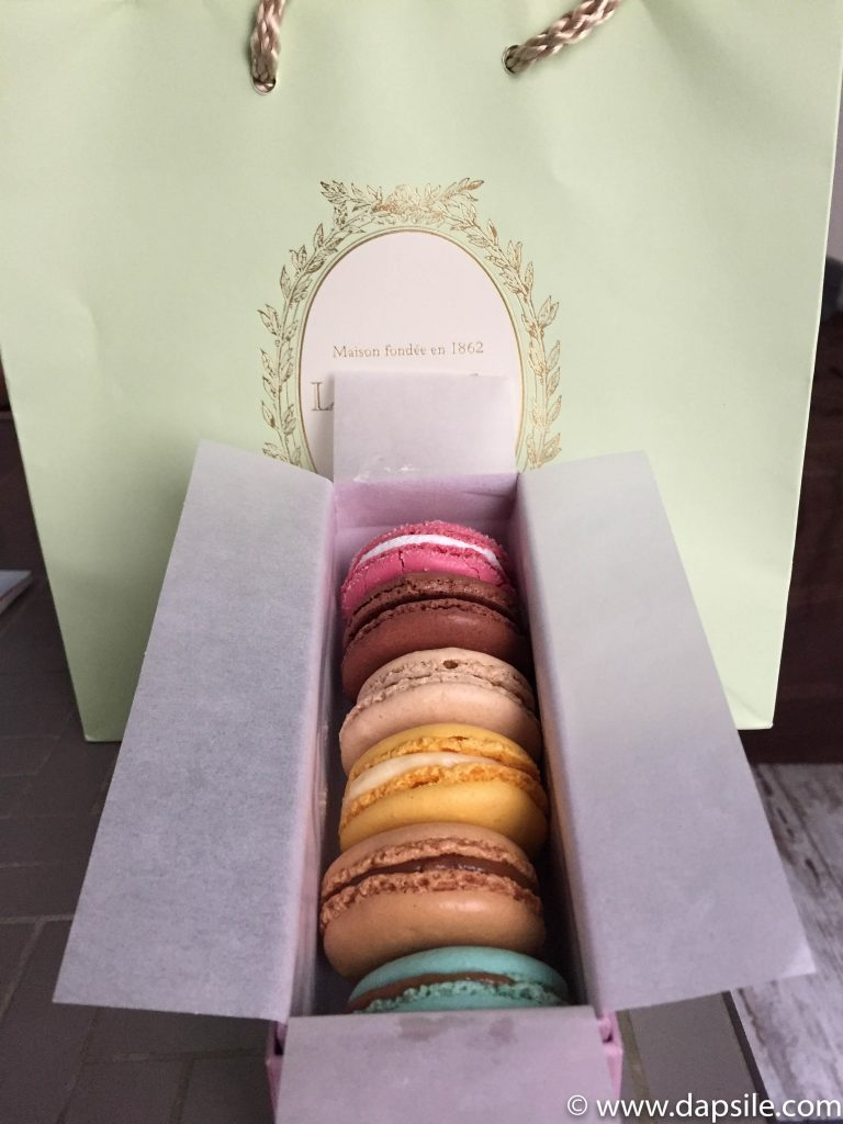 Laduree Macarons in Paris Sights