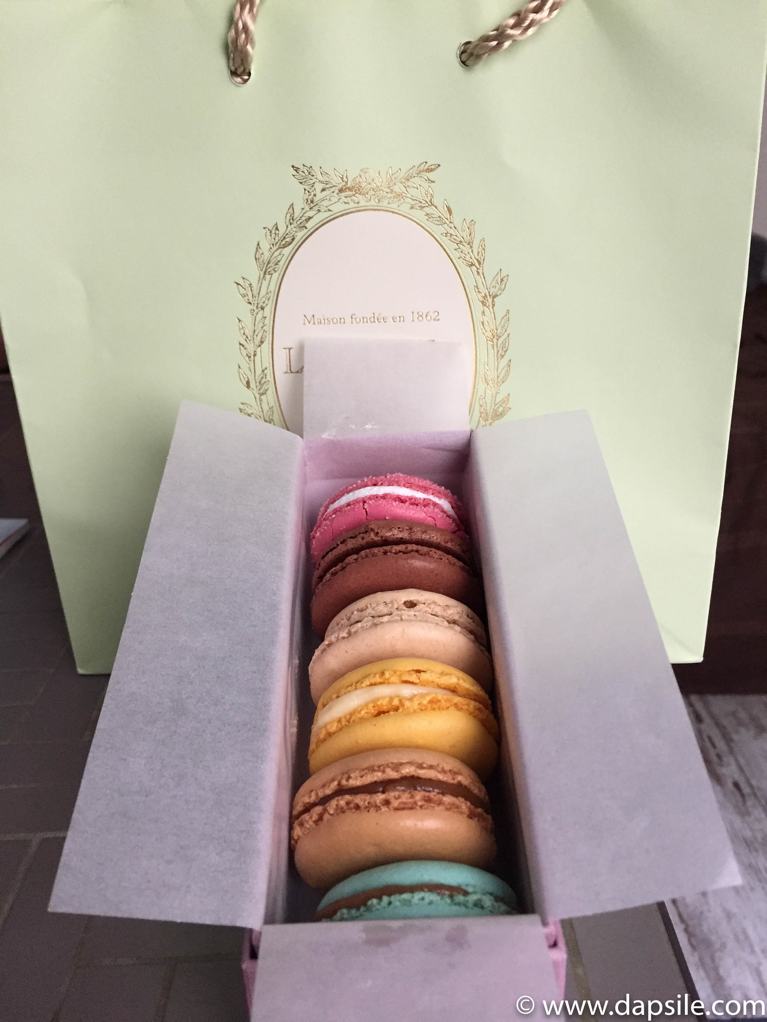 Laduree Macarons in a box Macaron Day 2019