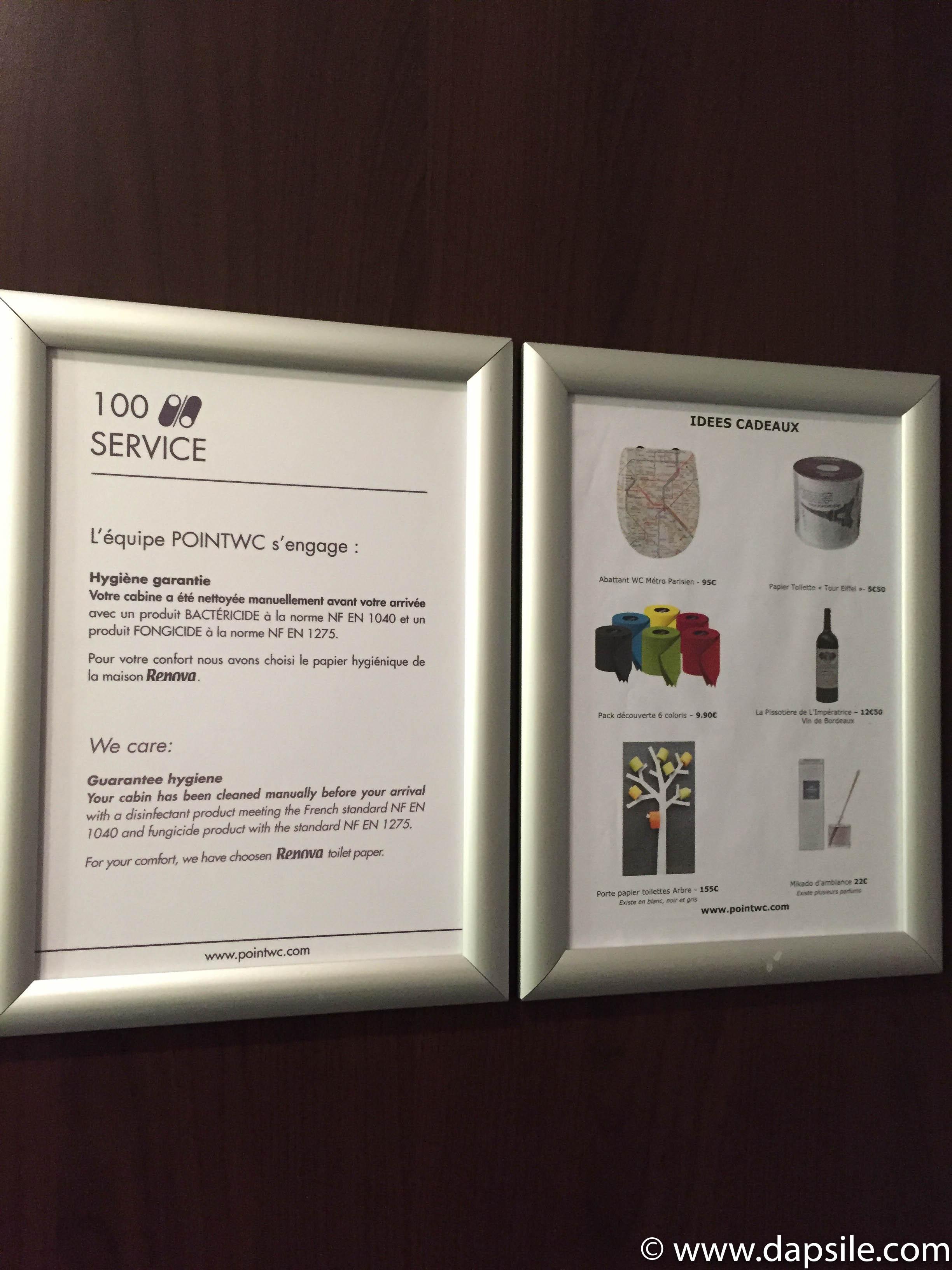 Toilette Gris Et Blanc point wc paris - dapsile