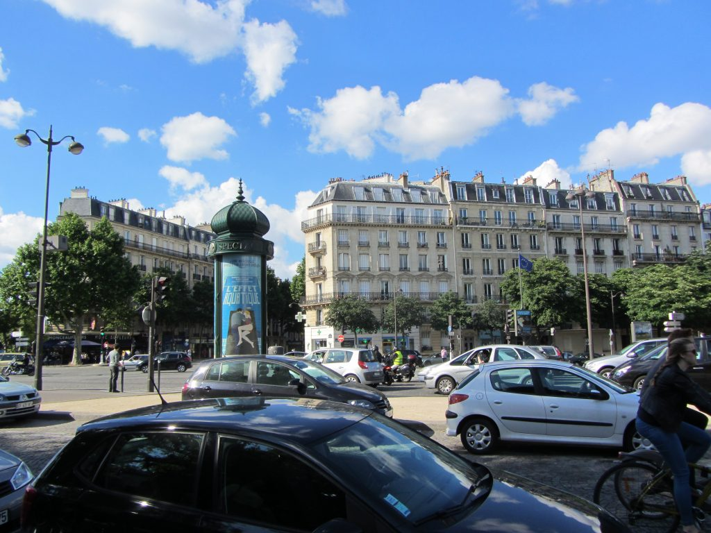 City Street in Paris