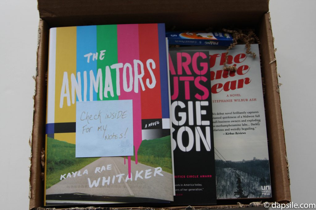 Winter 2017 Quarterly's Literary Box Contents