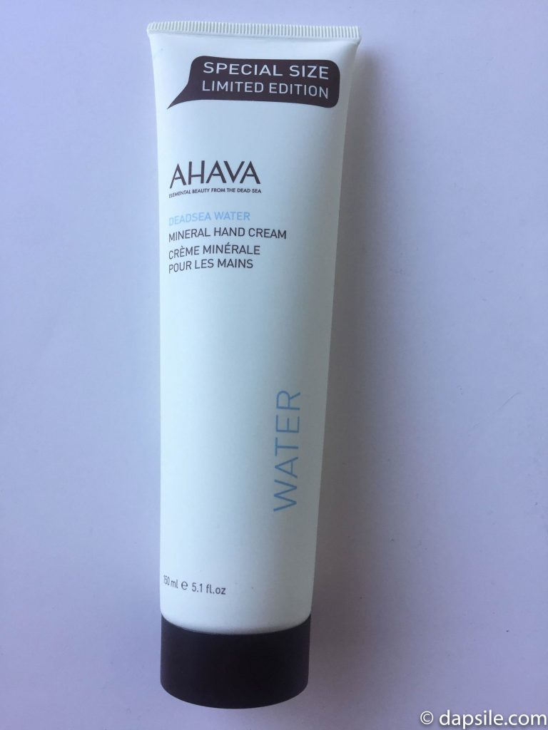 AHAVA Dead Sea Water Hand Cream from the FabFitFun Winter 2017 subscription box