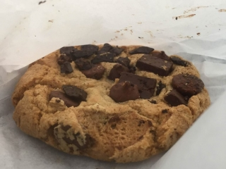 Mink Chocolates Chocolate Chip Cookie in the bag