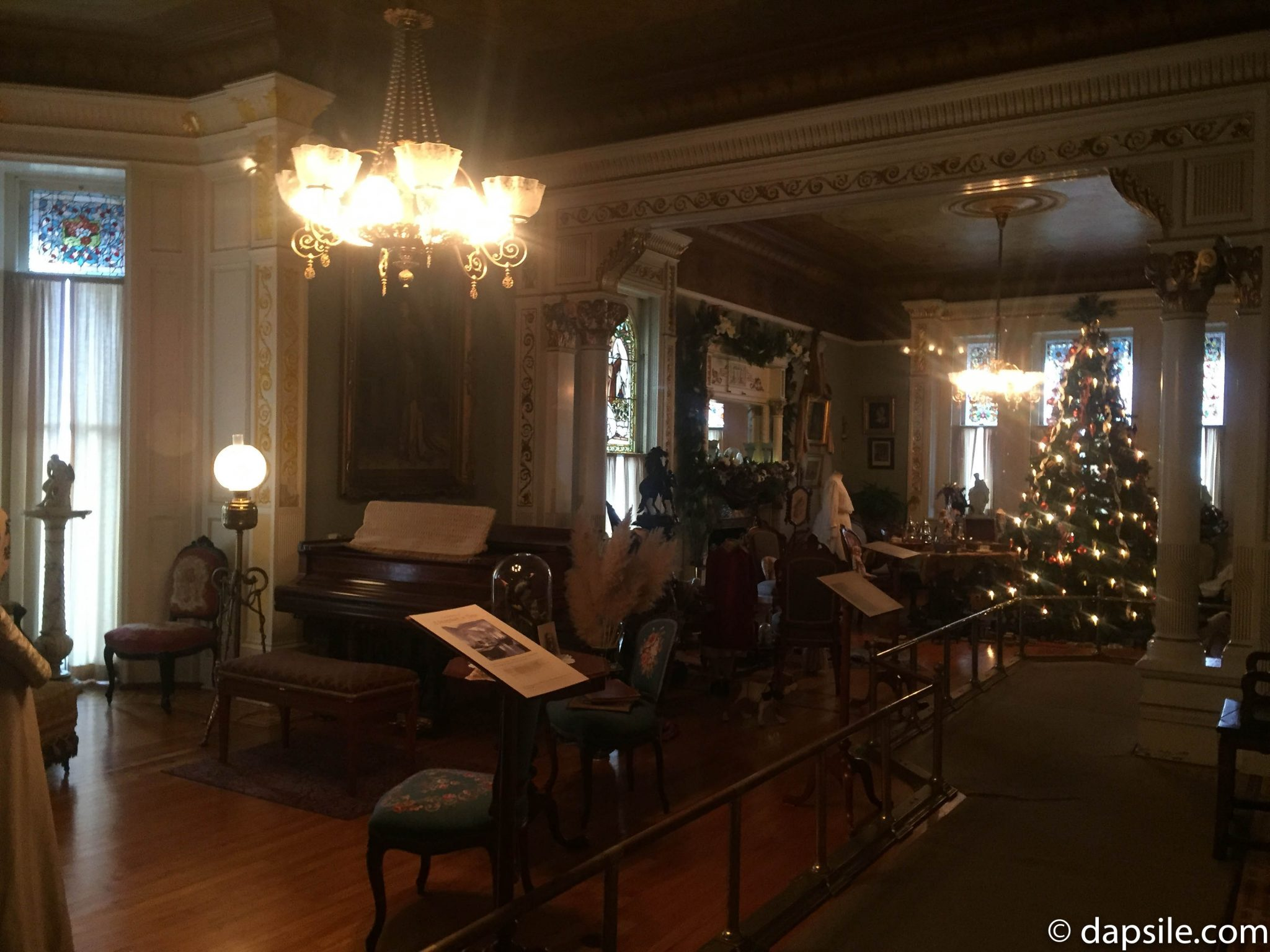 Christmas Inside the Drawing Room at Craigdarroch Castle Things to do in Victoria