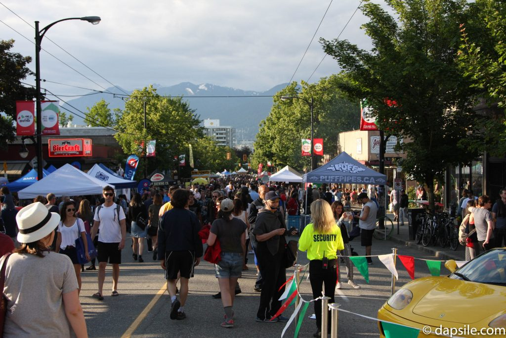 Crowd at Italian Day on the Drive
