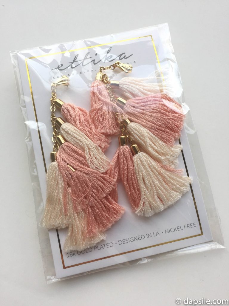 Ettika Tassel Earrings FabFitFun Spring 2018