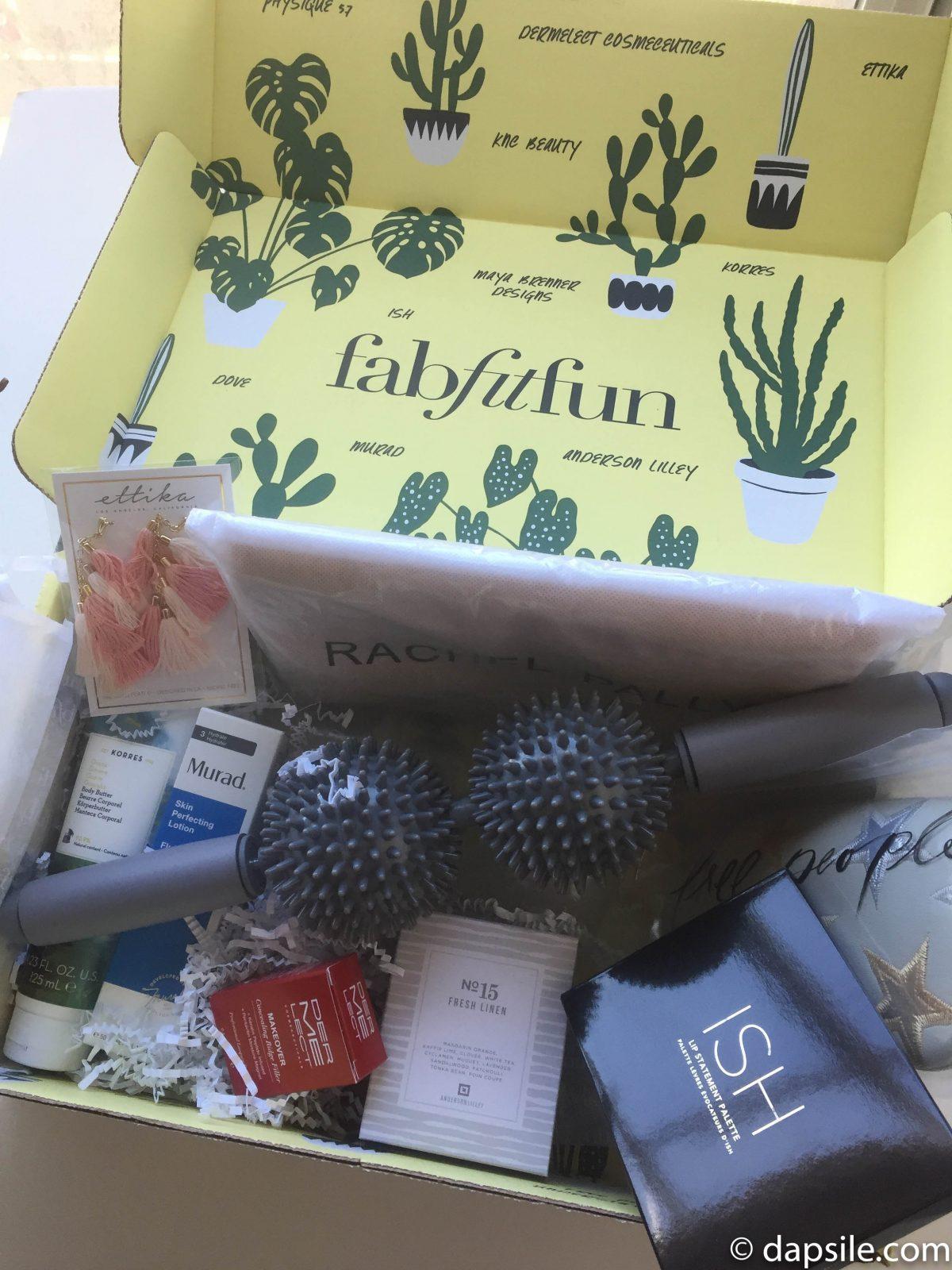 FabFitFun Spring 2018 Subscription Box Contents