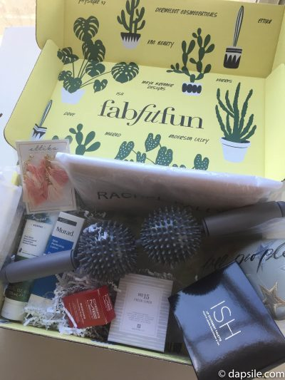 FabFitFun Spring 2018 Subscription Box Contents