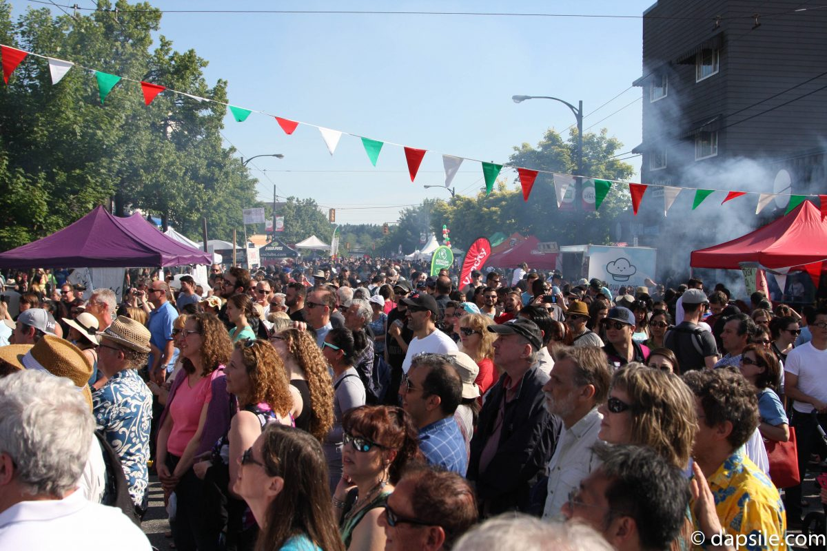 Italian Days on the Drive Street View Summer Street Festivals in the Vancouver Area