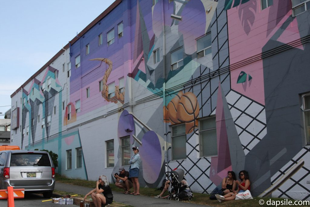 Mural Festival A Giant Mural Summer Street Festivals in the Vancouver Area