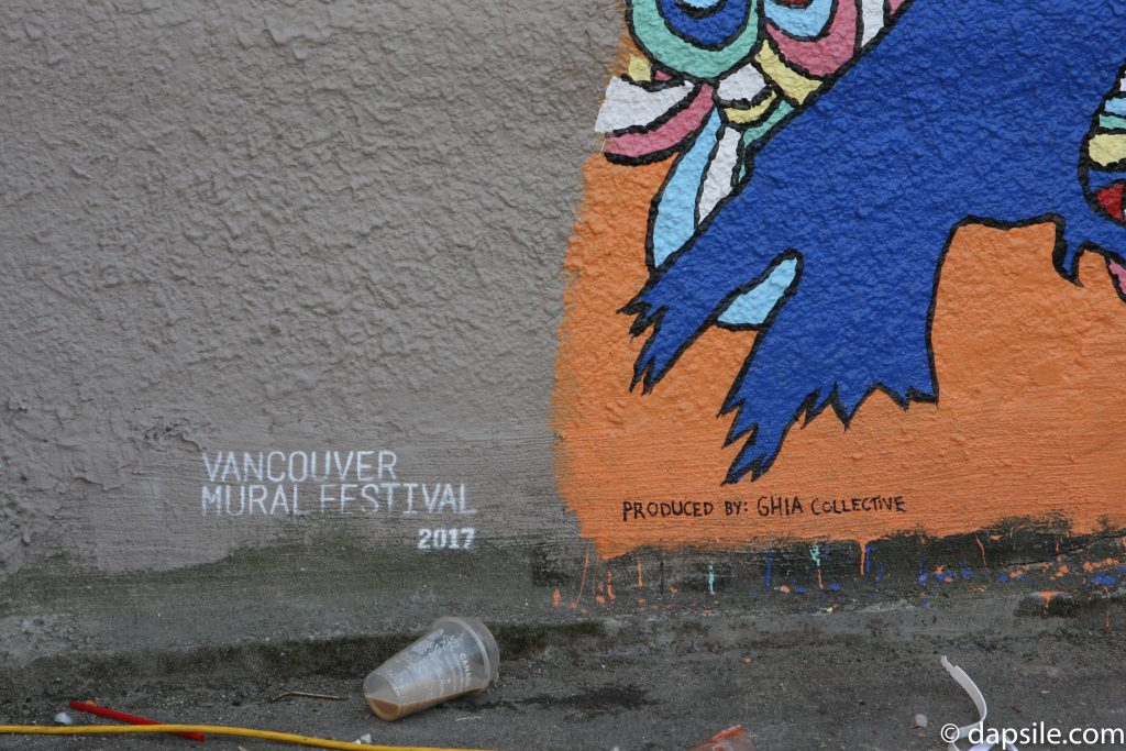 Mural Festival Tree and Life Produced By Summer Street Festivals in the Vancouver Area