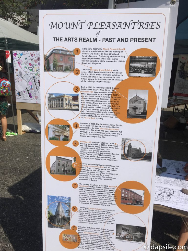 Mural Festival Mount Pleasant The Arts Realm Sign