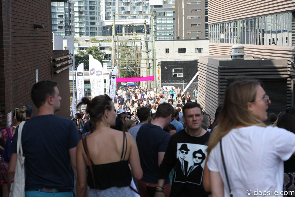 Mural Festival Walk the Alleys Summer Street Festivals in the Vancouver Area
