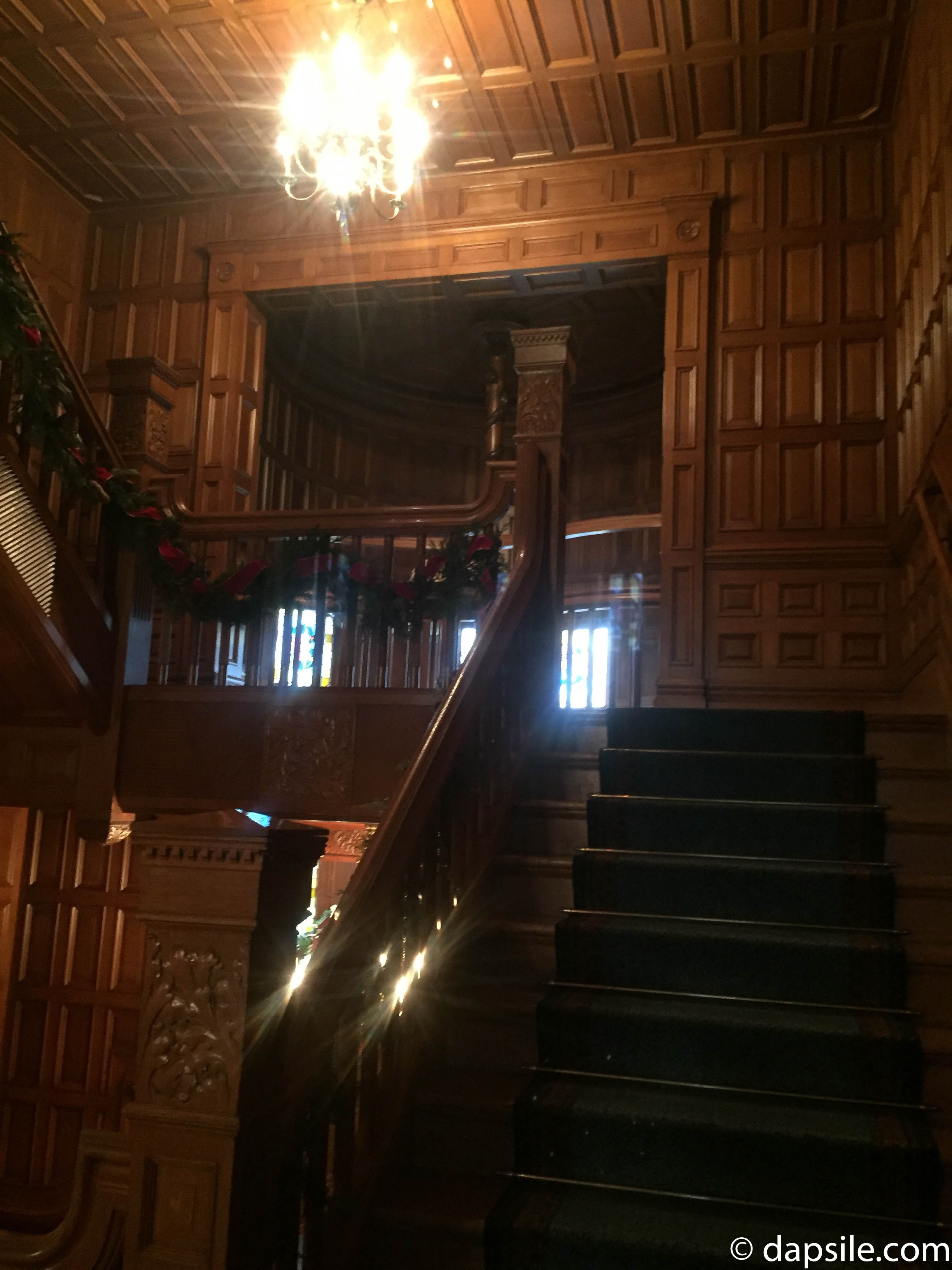 Staircase and Landing Inside Craigdarroch Castle