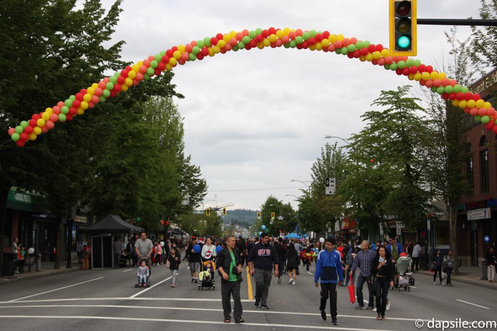 Summer Street Festivals in the Vancouver Area Hats Off street view