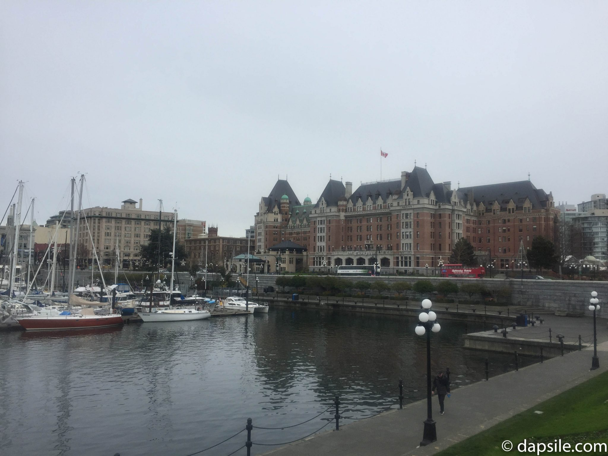 Things to Do in Victoria View of Empress Hotel from Hotel Grand Pacific