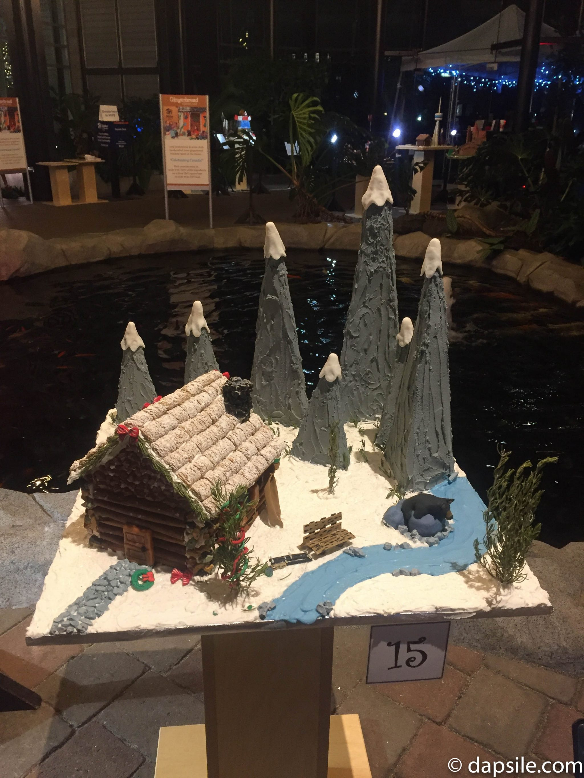 Things to Do in Victoria Gingerbread House Display House with Trees