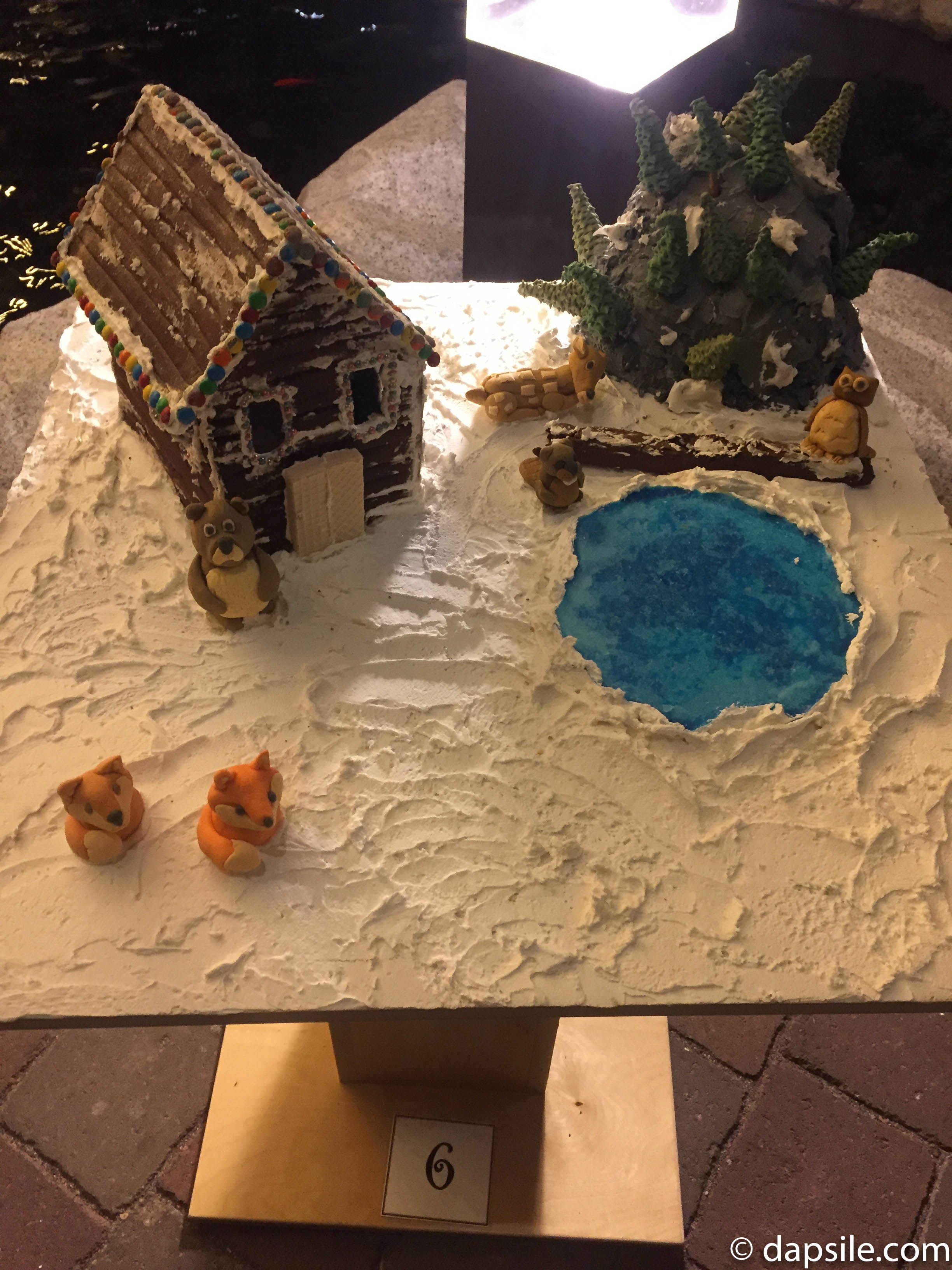 Things to Do in Victoria Gingerbread House Display House with Pond