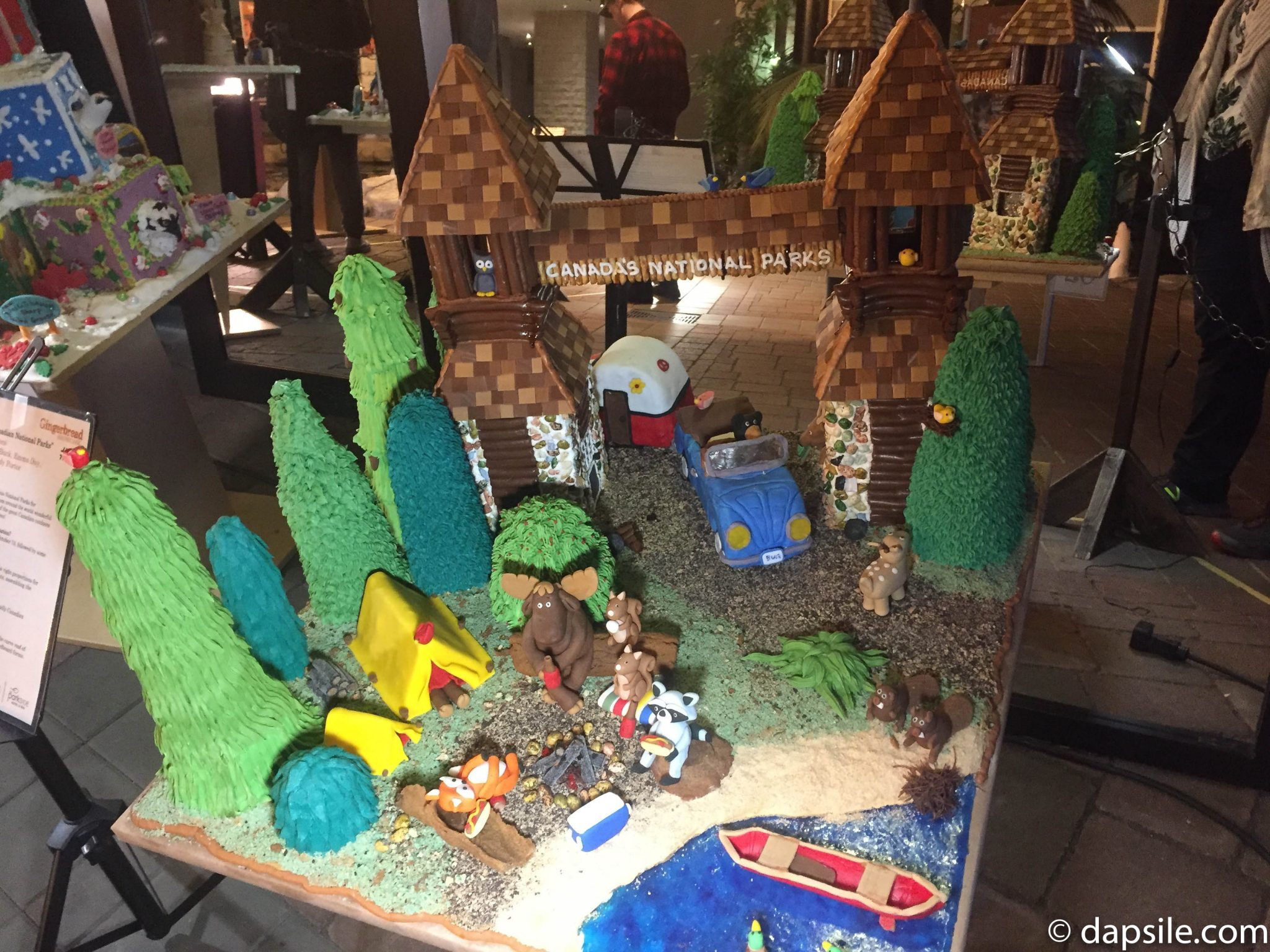 Things to Do in Victoria Gingerbread House Display Canada National Parks