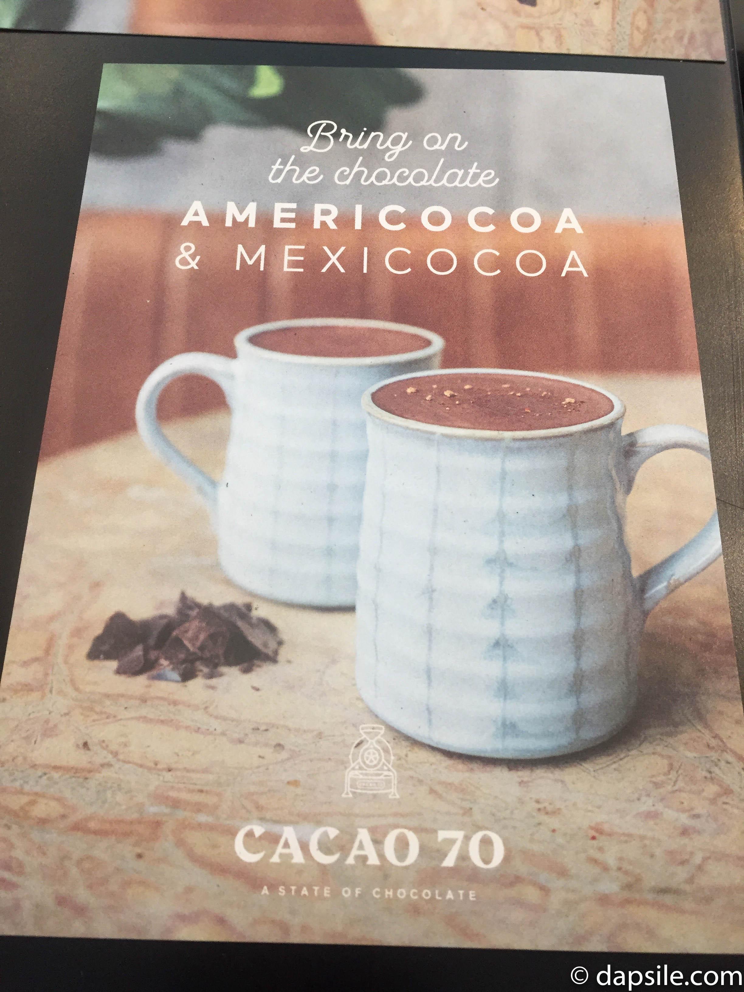 Americocoa & Mexicocoa Pamphlet cover Picture