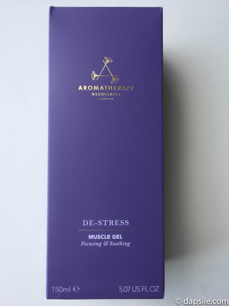 Boxed Aromatherapy Associates De-Stress Muscle Gel from the FabFitFun Summer 2018 box