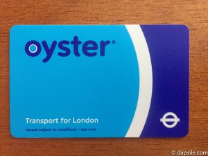 Oyster Card Getting Around London