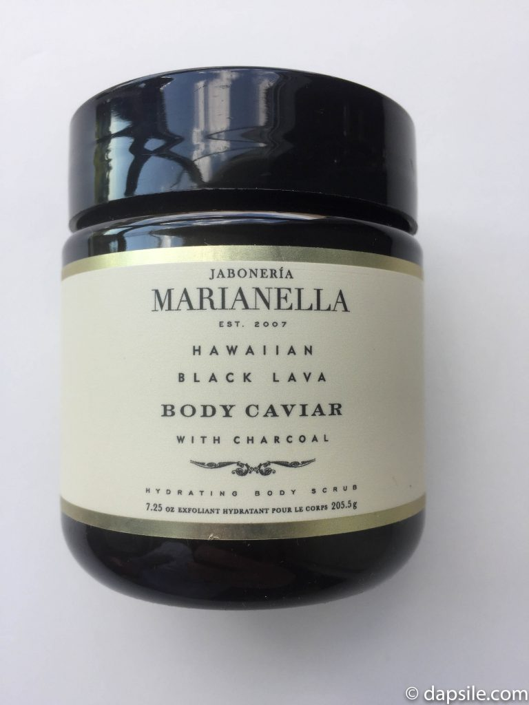Jaboneria Marianella Hawaiian Black Lava Body Caviar from the FabFitFun Summer 2018 box