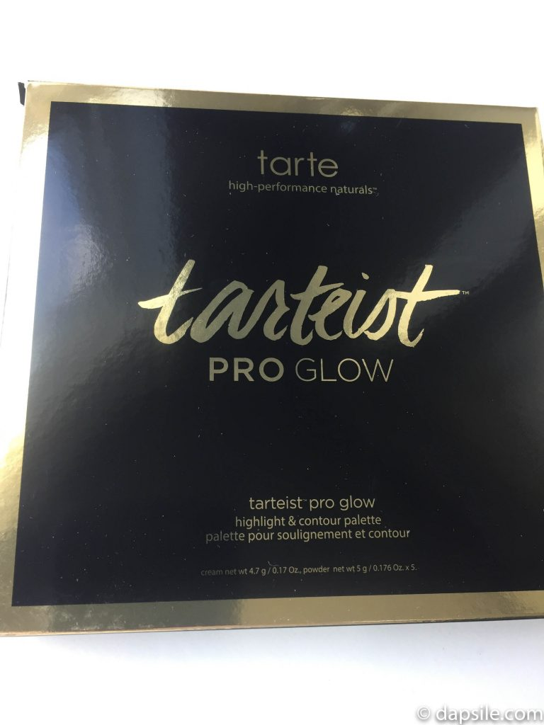 Packaged tarte tarteist PRO glow highlight & contour palette in the FabFitFun Summer 2018 box