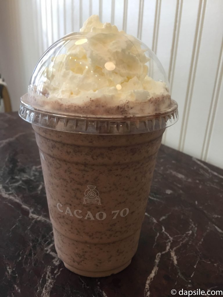 Cacao 70 Frappe Cold Chocolate Drink