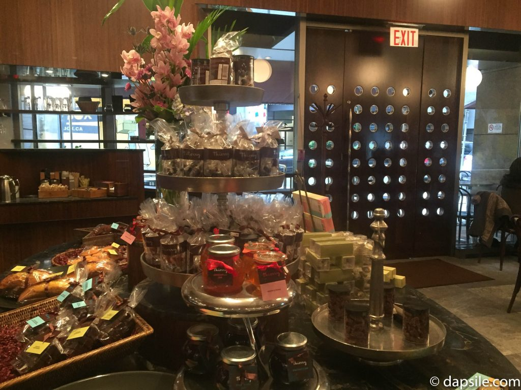 Thierry Cafe and chocolate shop Treats to Take Home and Front Door