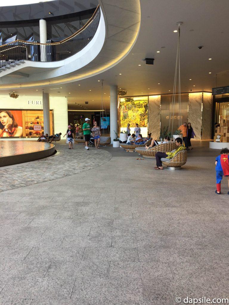 Partially Outdoor Part of Pacific Fair Shopping Centre