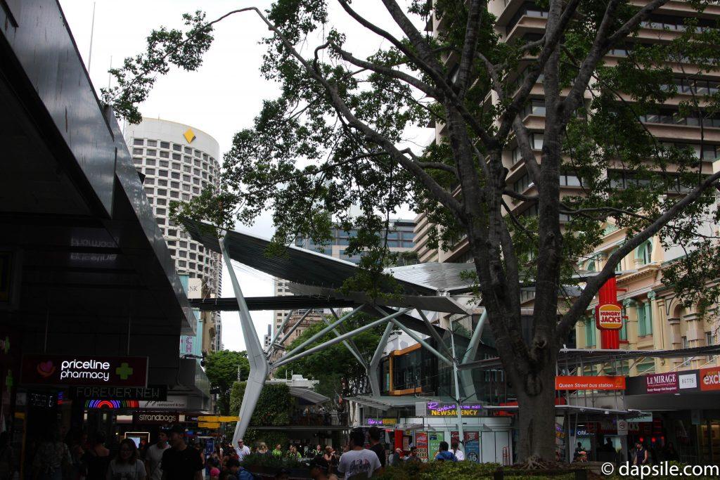 Queen Street Mall in Brisbane CBD