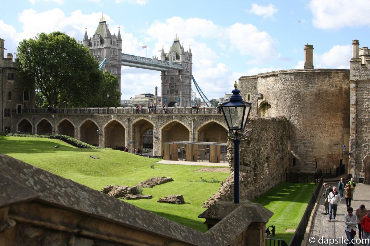 Tower Bridge from Tower of London