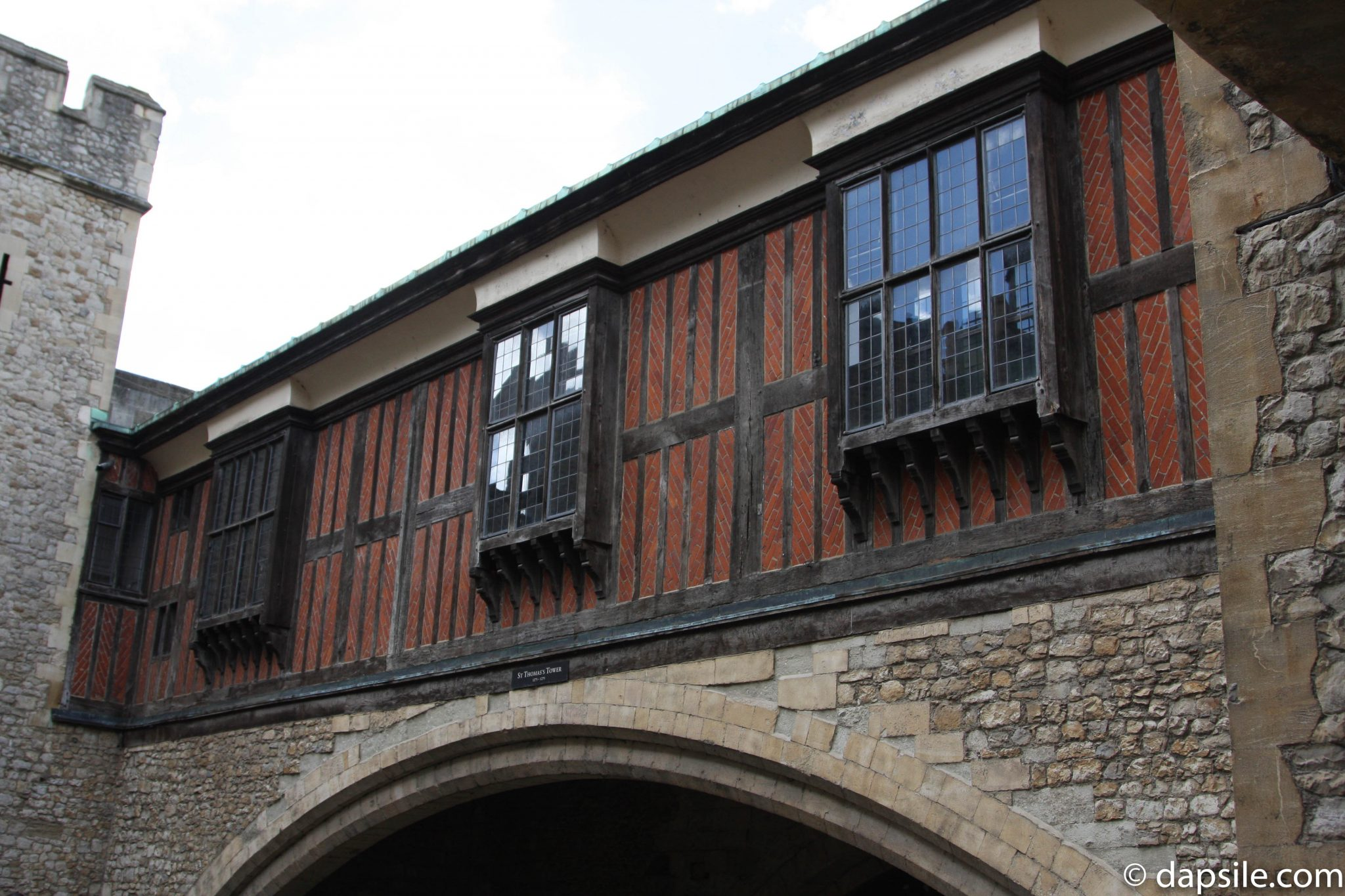 Tudor Architecture at the Tower of London