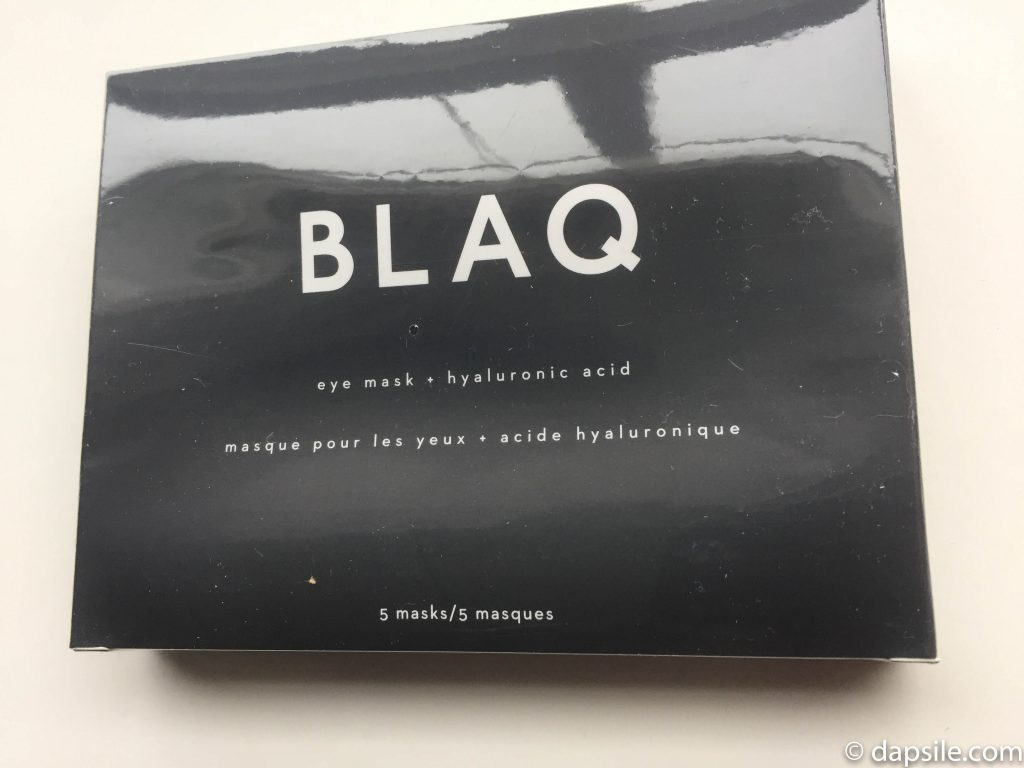 BLAQ eye masks